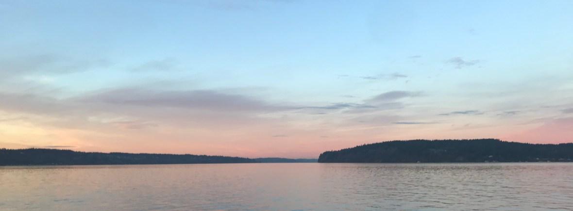 titlow beach sunset