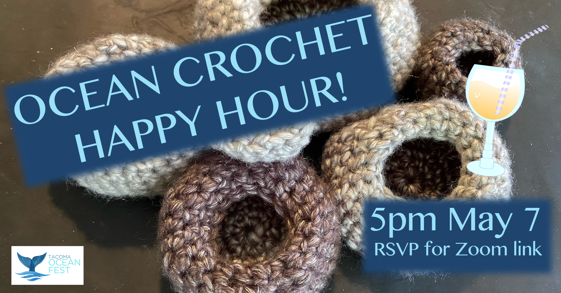 ocean crochet happy hour