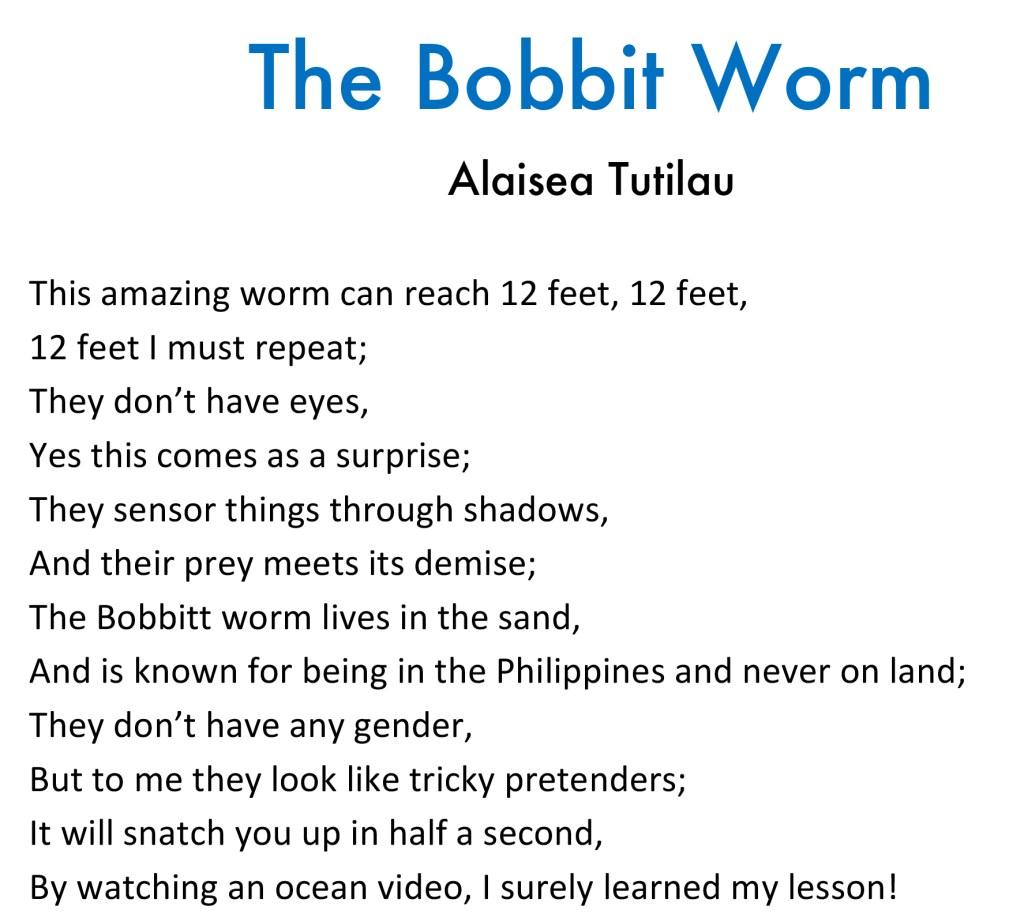 bobbit worm poem