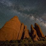 Douglas Hall  Milky Way Arches National Park  No Comment