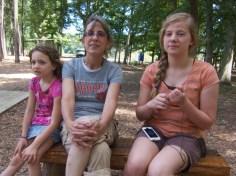 Hailey, Auntie Donna, Kaela