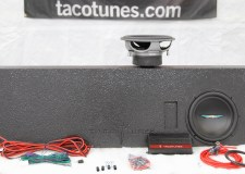 "Toyota Tundra Subwoofer Box and 10"" Image Dynamics Subwoofer"