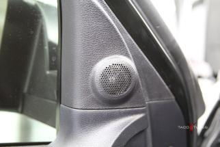 Toyota Tundra CrewMax Front Door Tweeter Close Up