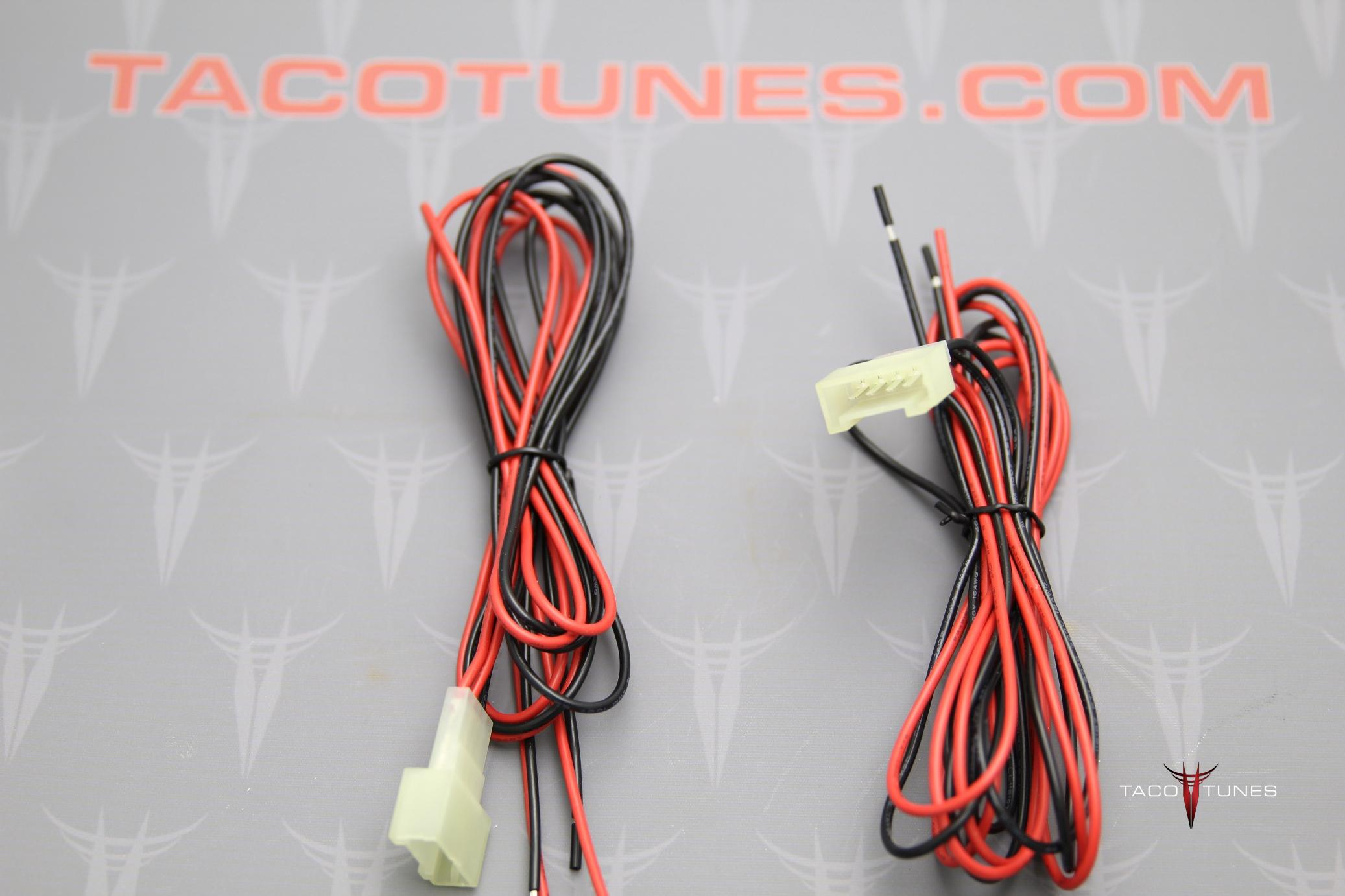 2010 2017 toyota 4runner tweeter speaker wiring harness adapter toyota 4runner tweeter wire harness adapter interface