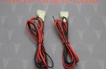 Toyota 4Runner Tweeter Wire Harness Adapter connectors