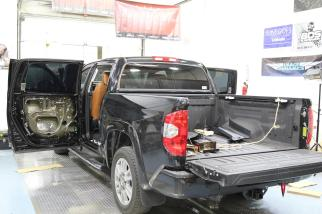 2015 Toyota Tundra CrewMax 1794 Edition Stereo System Upgrade2015 Toyota Tundra CrewMax 1794 Edition Stereo System Upgrade