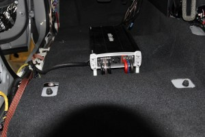 Toyota Tundra CrewMax Pro Tweeters and speakers power amplifier