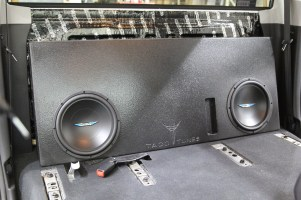 2017 Toyota Tundra TRD Pro CrewMax Subwoofer Box