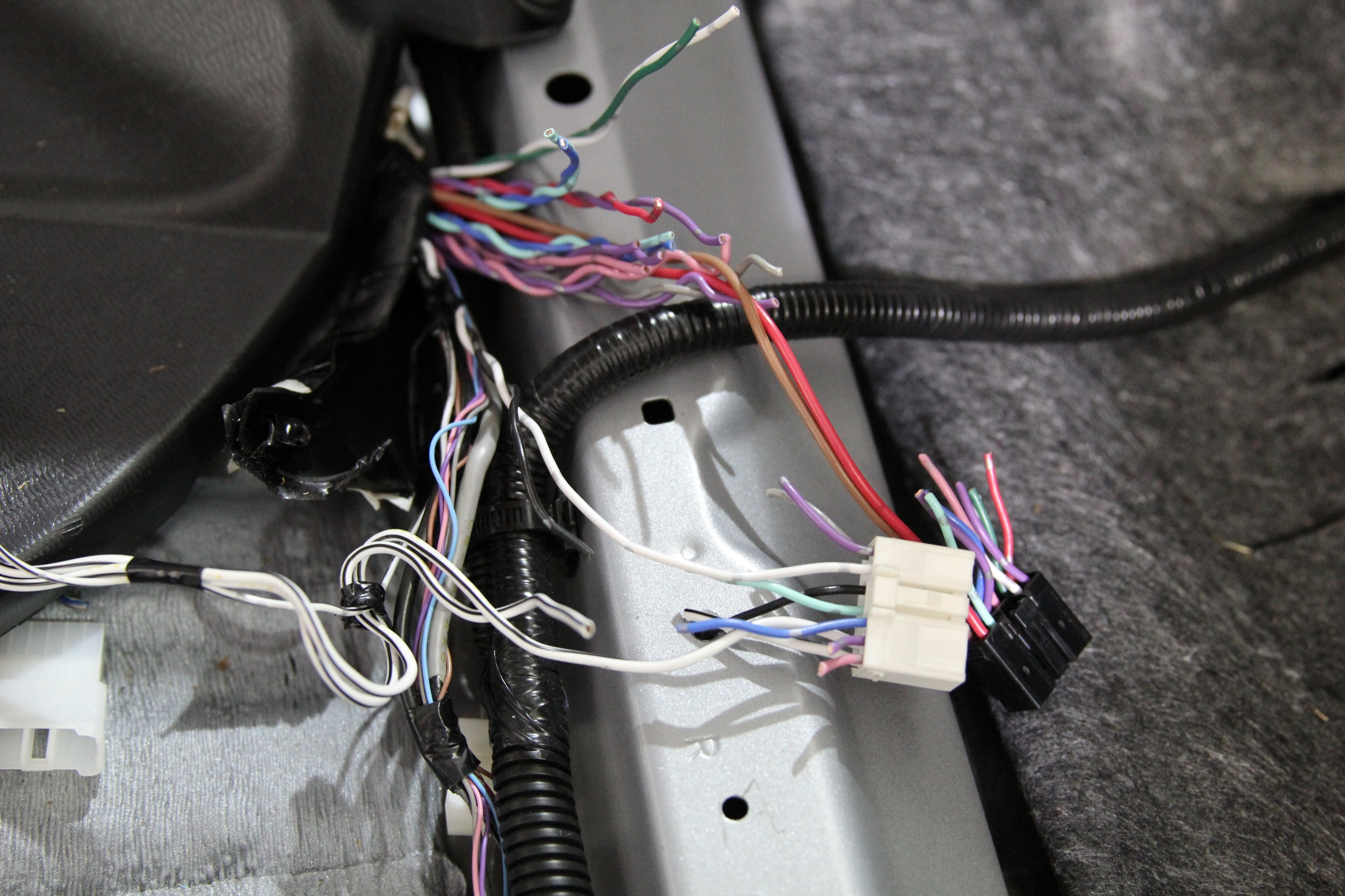 Tundra JBL Wiring Harness Repair Making New Harness 2?resize\\\=225%2C160 toyota jbl harness adapter wiring diagrams longlifeenergyenzymes com tao wiring harness replace at edmiracle.co