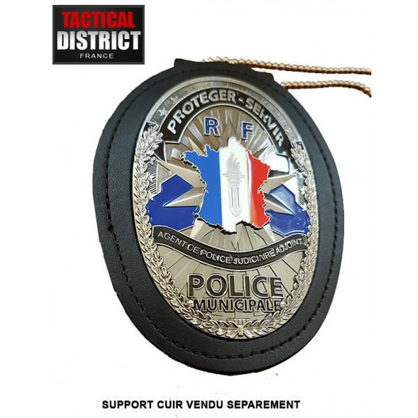 Plaque De Ceinture Police Municipale