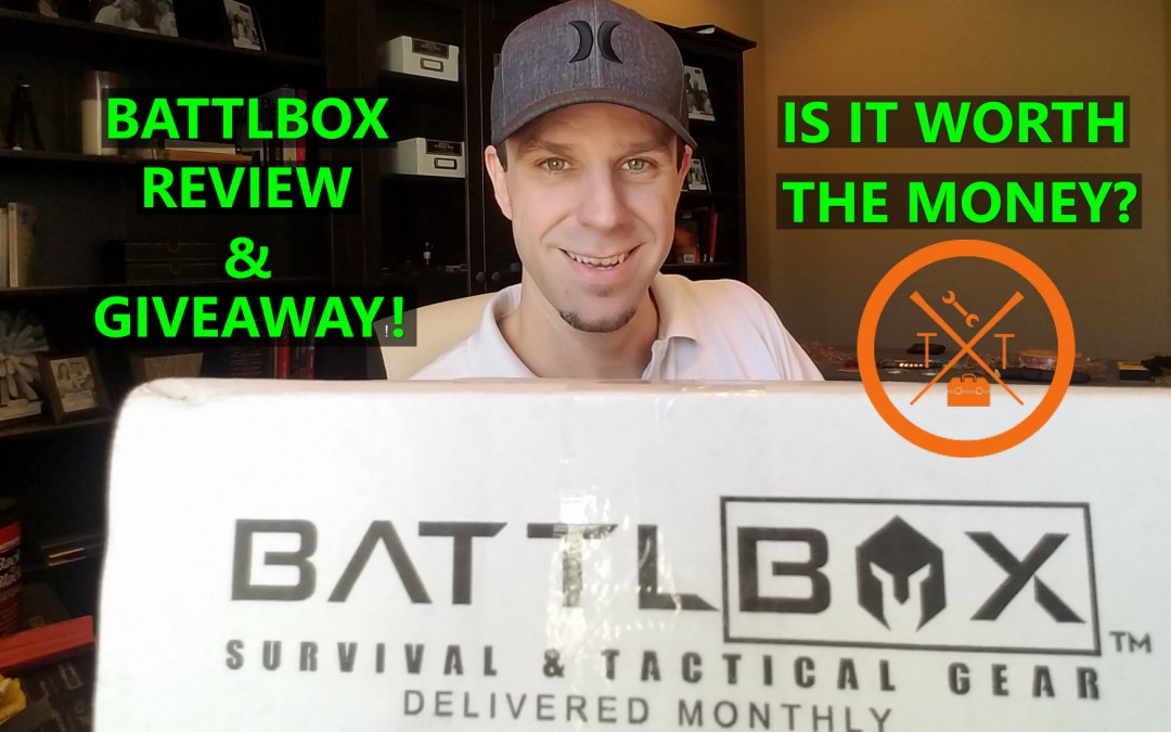 BATTLBOX SUBSCRIPTION BOX REVIEW & GIVEAWAY!