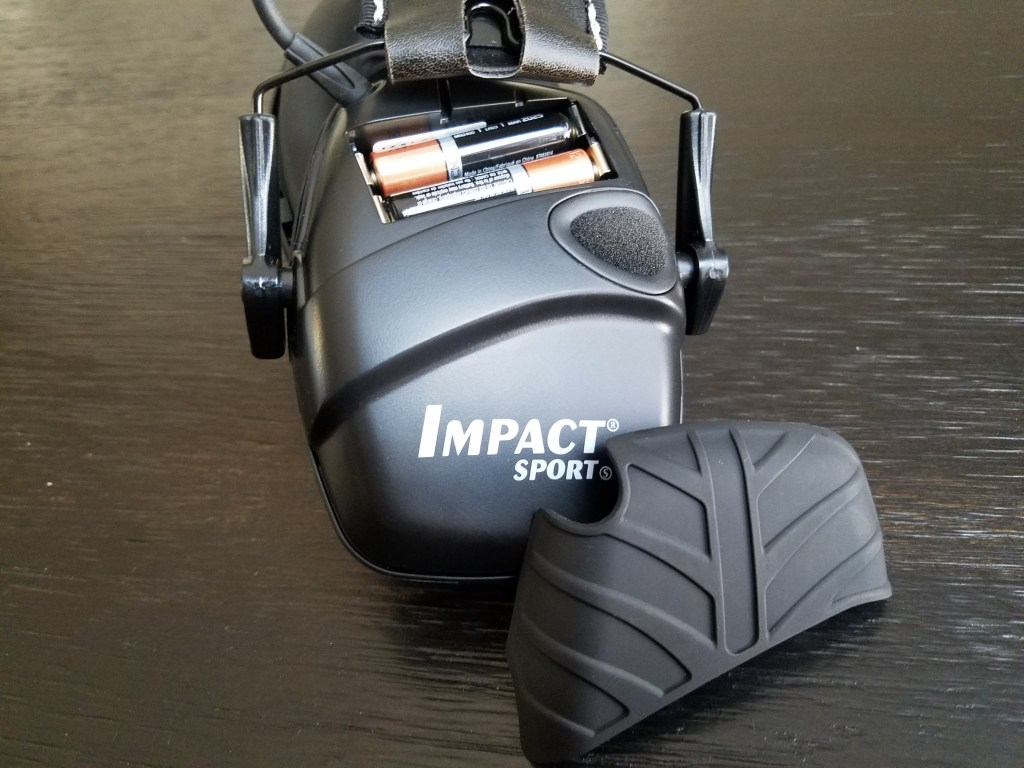 howard leight impact sport battery