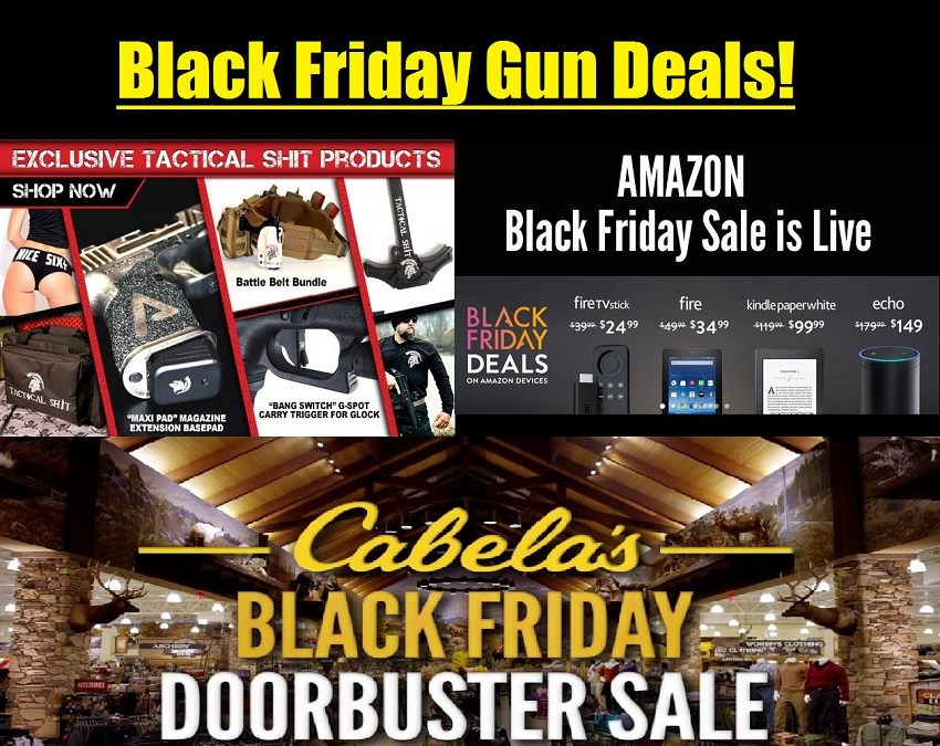 Top 10 Black Friday/Cyber Monday Gun Deals!