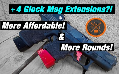 Best Glock Magazine Extension: Cheaper Than Taran Tactical Mag Extension!