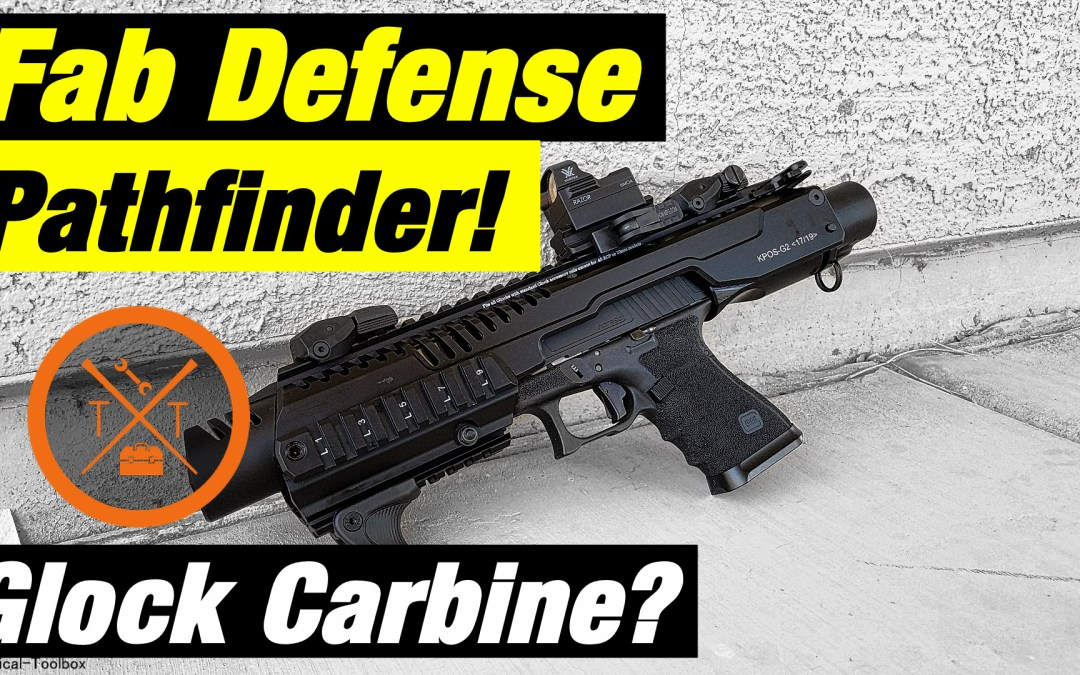 Glock 19 Pistol Carbine Conversion KPOS G2P Pathfinder Review!