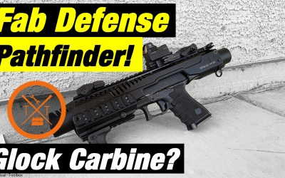 Glock 19 Pistol Carbine Conversion KPOS G2P Pathfinder Review!