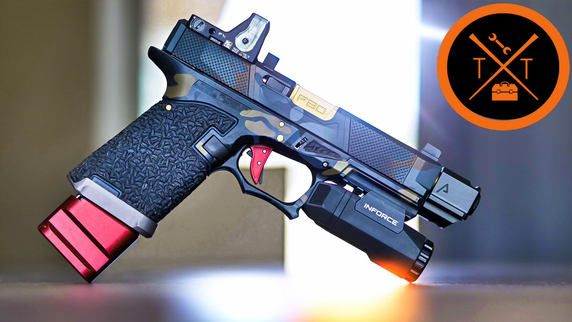 Custom Glock 19 // Agency Arms 417 Compensator Review