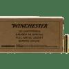 Winchester Service Grade Handgun Rounds .38 SPL 50-Rounds 130 Grain FMJ