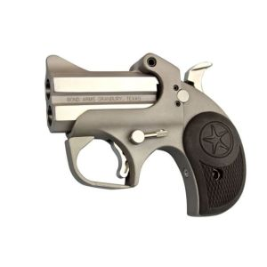 """Bond Arms Rough n' Rowdy Derringer Stainless .410 Gauge / .45 LC 3"""" 2-Round"""