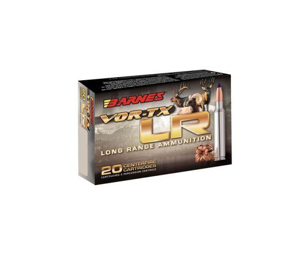 Barnes Bullets VOR-TX 300 Remington Ultra Magnum (RUM) 190 GR LRX Boat Tail 20 rds