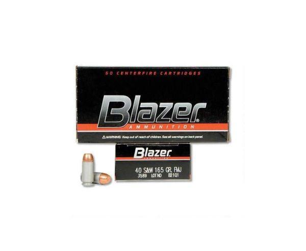CCI Ammuniton Blazer .40 SW 165GR TMJ 50Rds