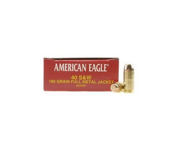 Federal AM Eagle 40SW 180GR FMJ 50rds