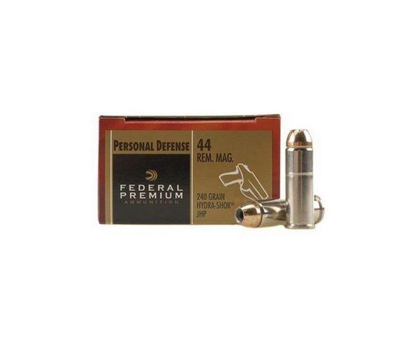 Federal HYDRA-SHOK 44mag 240GR 20rds