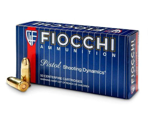 Fiocchi 9mm Handgun Ammunition 115 Grain FMJ 50rds