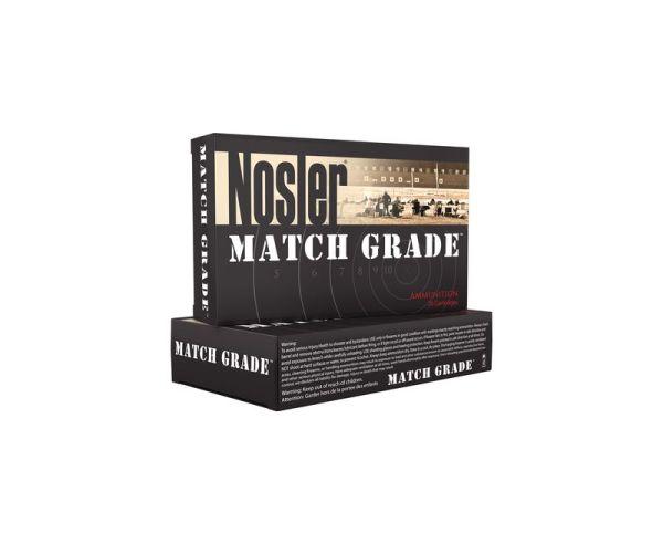 Nosler Match Grade Brass .40 SW 150-Grain 20-Rounds JHP