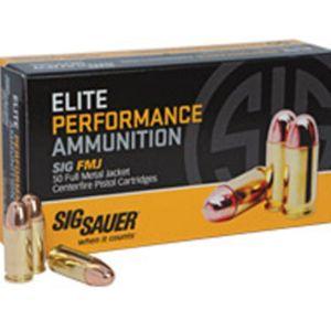 Sig Sauer Elite Performance 9mm 115GR 50Rds