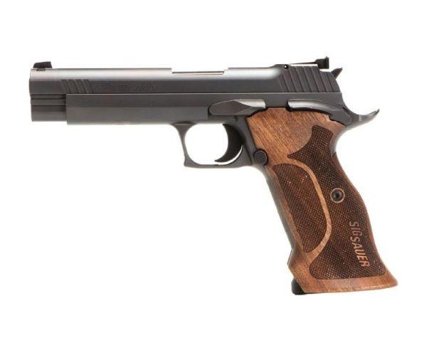 Sig Sauer P210 Target Nitron/Walnut 9mm 5-inch 8rd