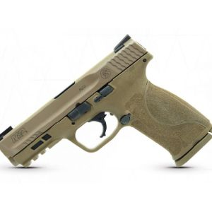 Smith and Wesson M&P9 M2.0 Flat Dark Earth 9mm 4.25-inch 17Rds Night Sights