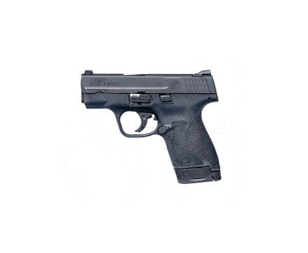 Smith and Wesson MP9 Shield M2.0 9MM 3-inch 8rd Black Night Sights No Thumb Safety