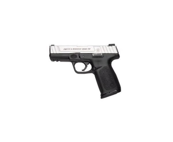 Smith and Wesson SD9VE Stainless / Black 9mm 4-inch 10Rd California Compliant