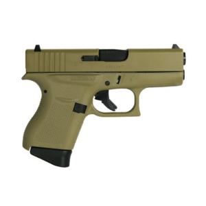"Glock 43 Flat Dark Earth 9mm 3.39"" Barrel 6-Rounds"