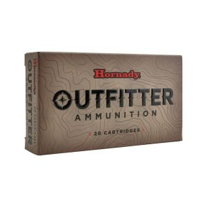 Hornady Outfitter 375 Ruger Ammo 250 Grain GMX Lead-Free 20-Count
