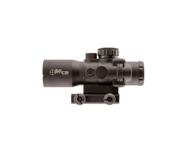 Sun Optics PS30432IR Tactical Precision 4x 32mm Black Matte Illuminated Mil-Dot 3 Color