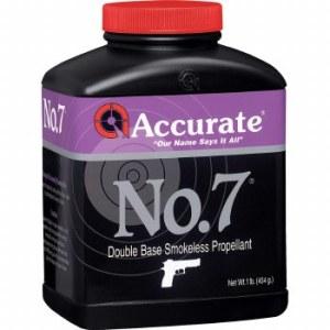 accurate no 7 powder