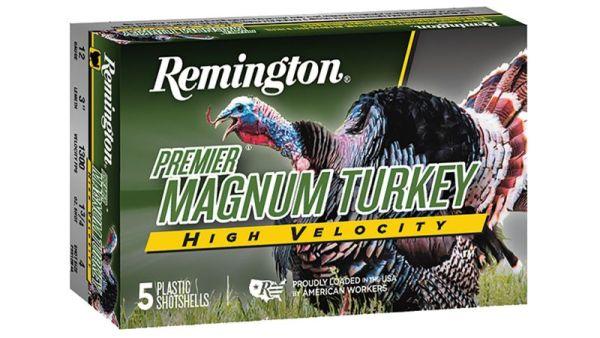 Remington Premier Magnum Turkey High Velocity 5Rds 12Ga 3.5-in-chamber 2oz 5-shot