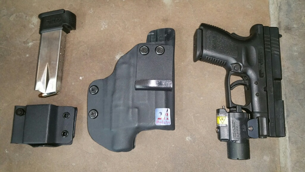 2A Holster: Custom Holsters for Your Gun and Your Light