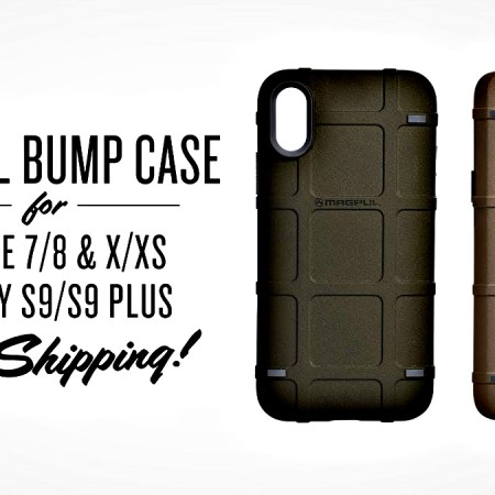 Magpul Bump Case for iPhone 7/8; X/Xs
