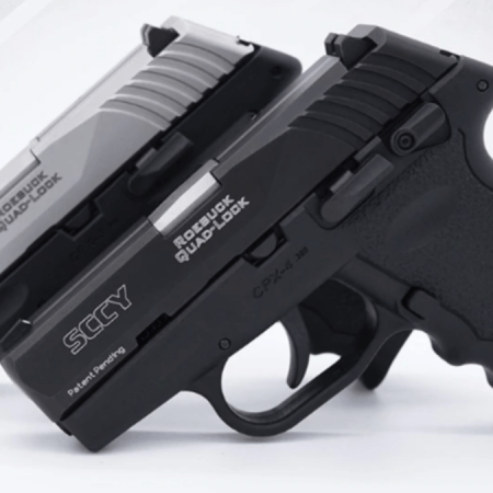 SCCY Firearms CPX-4 auto pistol - new for 2019