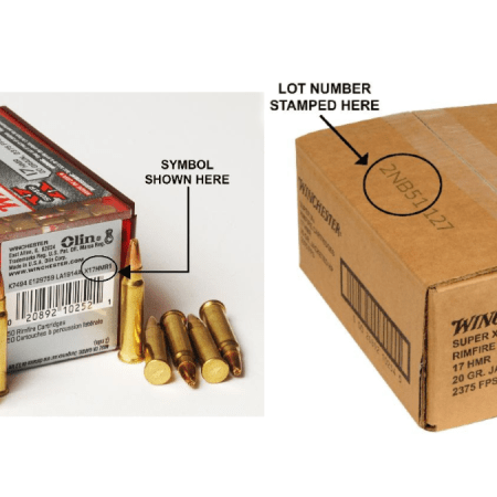 PRODUCT WARNING AND RECALL NOTICE: WINCHESTER® Super-X 17 HMR 20 Grain Jacketed Hollow Point