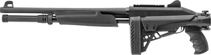 The P3000 Freedom Series Supreme provides a custom fit with it's six-position, telescoping rear stock with adjustable cheek rest. The stock also folds for compact storage and transportation.