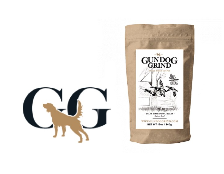 Gundog Grind small batch coffee, Delta Waterfowl Medium Roast Coffee