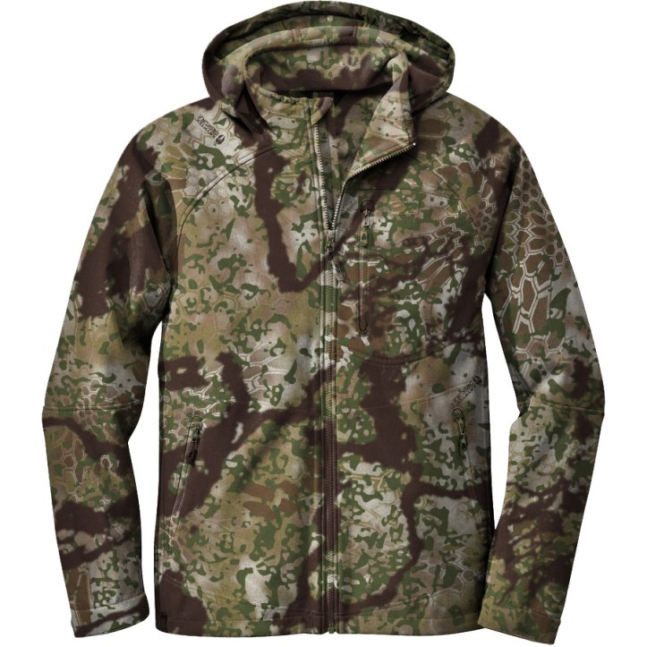 Kryptek Obscura - Transitional Pattern. blends with traditional earth surface value colors.
