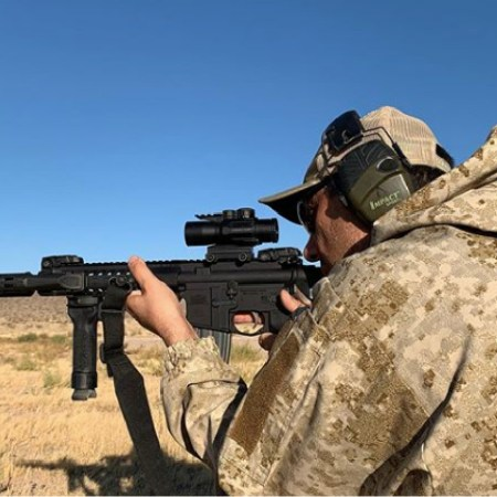 Shooting the new 3x ACSS prism scope.
