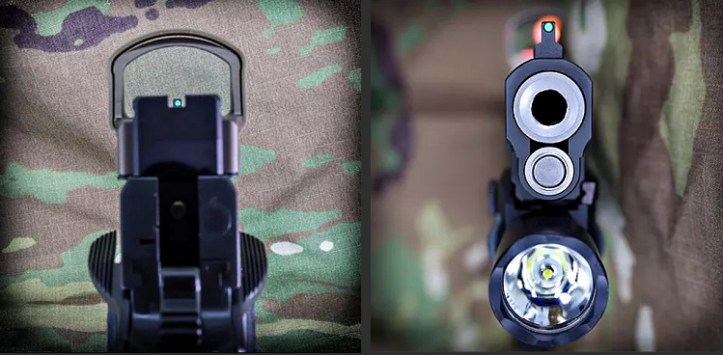 Staccato P DUO with a Leupold Delta Point Pro and Surefire X300 Weaponlight