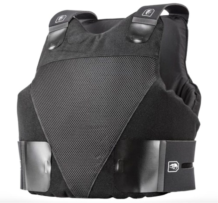 Concealable Level IIIA certified wraparound vest