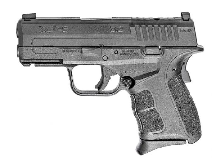 Springfield Armory XD-S Mod.2 OSP optics ready 9mm pistol